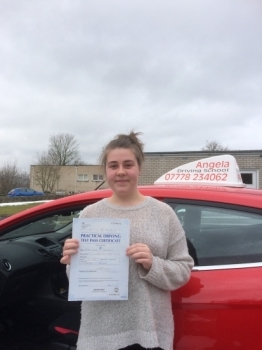 Still can't believe I have passed my driving test at the first attempt and with only 2 minor faults <br />