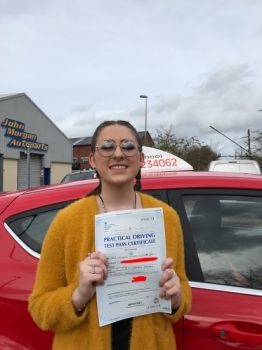 Angela was ever so patient and helpful throughout my experience learning to drive. I passed first time and would recommend to anyone!