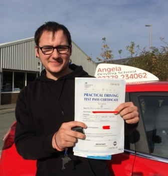What a fantastic driving instructor to be with you will be very happy with the service and the length of time you will need to pass your test and there is no better driving school than this one don´t the miss change to be part of this school thank you so much for all the time you take to help me pass my test