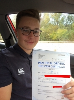 Great instructor, first time pass, really easy to talk to, makes you feel comfortable while driving and reduces nerves.